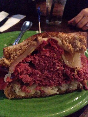 Sport Restaurant and Bar: Full on sandwiches that are huge