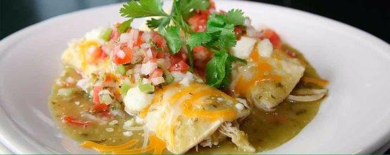 Sport Restaurant and Bar: Enchiladas