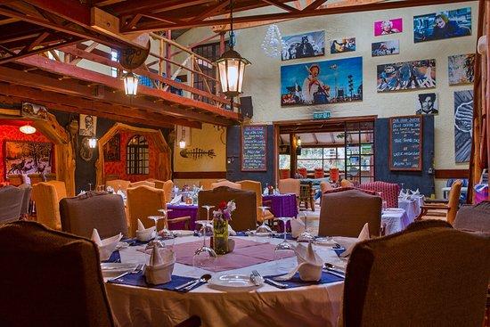 Kongoni Camp: Restaurant