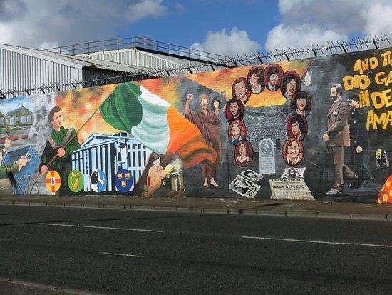 Bobby sands mural photo de falls road belfast tripadvisor for Bobby sands mural falls road