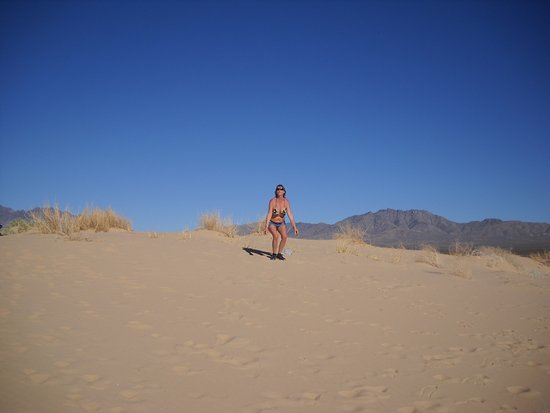 Essex, Kalifornien: So much fun in the heat of the dunes.