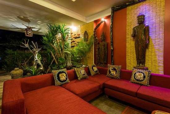Three Rooms Angkor Orchid Secret Villa: sitting area