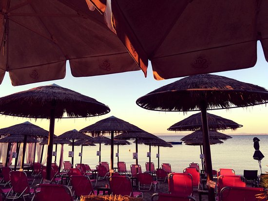 Psakoudia, Greece: Maze Beach Bar