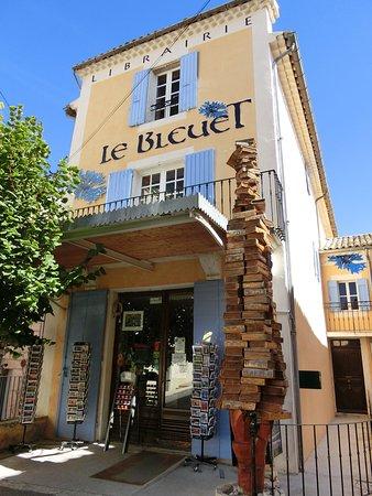 Banon, Francia: Librairie le Bleuet