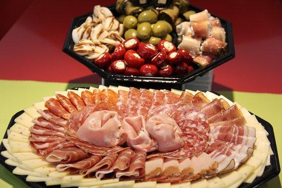 Dolce Italia : plateau de spécialité, peut être commandé