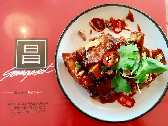 Edge Hill, Australië: Samgasat Thai cuisine