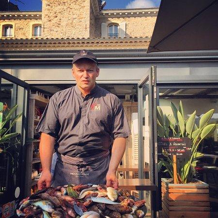 Le Grill de la Mourachonne : Soupe du marché