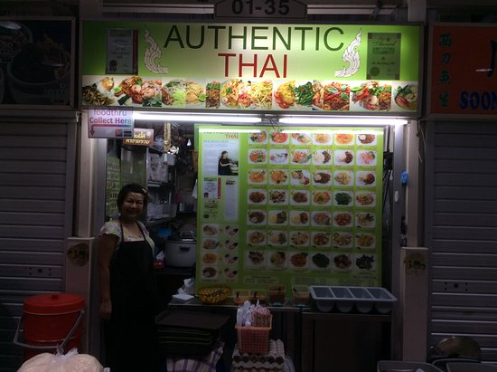 copthorne king s hotel singapore amoy street food hall excellent thai food here