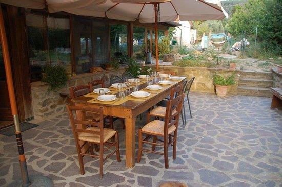 Castiglion Fiorentino, Italie : Fruehstueck und/oder Abendessen nach Anmeldung!