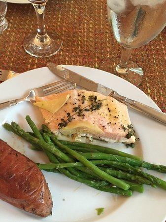 Wilmore, KY: Dinner (salmon)