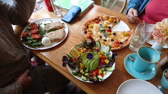What a yummy lunch!!  The Mandala is the place to eat in Porlock
