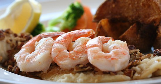 Lower Sackville, Канада: Maple Pecan Haddock & Shrimp Special