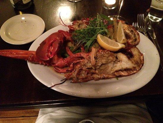 Rockport, ME: Grilled lobster