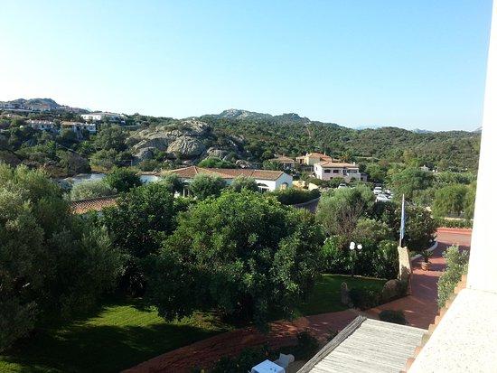 Hotel La Rocca Resort & Spa: Blick auf die Landseite