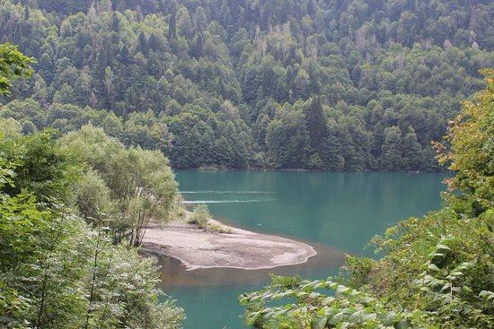 Image result for lake rica gagra georgia