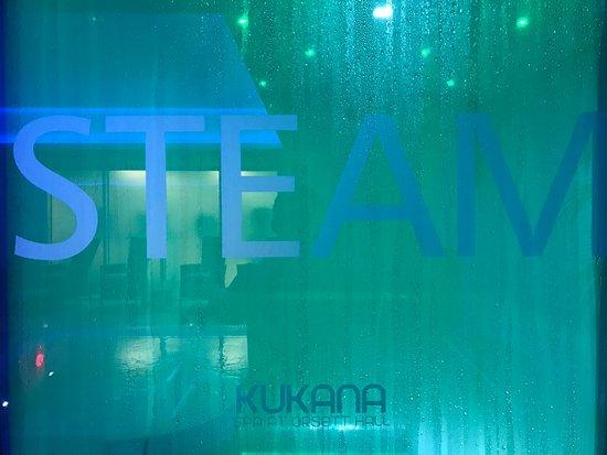 Orsett, UK: Steam room