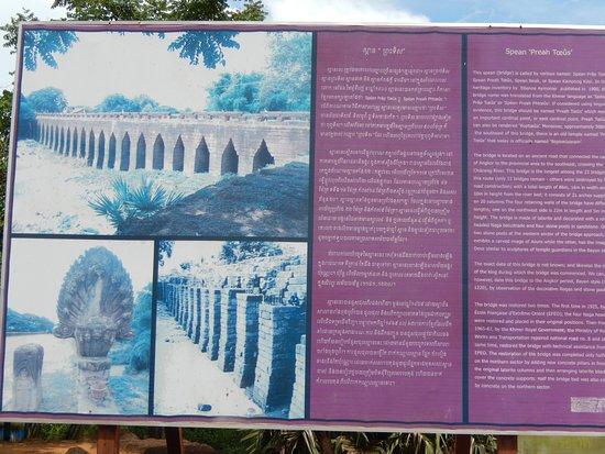 Kampong Thom, Cambodja: Weitere Infos zur Brücke