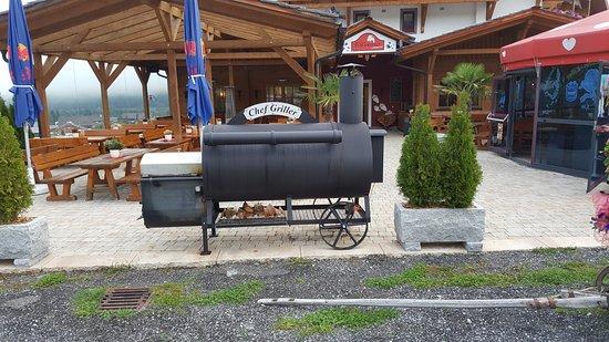 Sankt Margarethen im Lungau, Austria: Wood BBQ