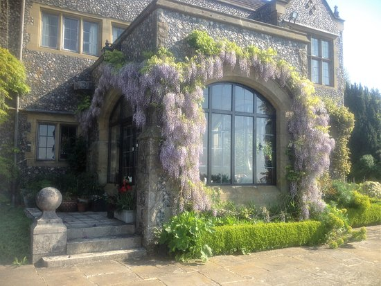 The guest entrance at Thurnham Keep