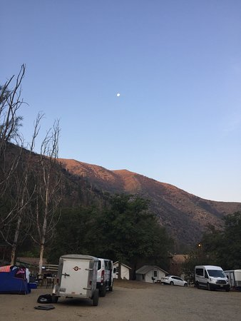 Indian Flat Campground: Área de camping