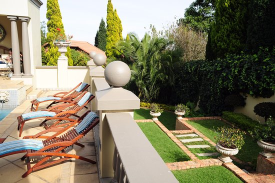 Villa Lugano Guesthouse : Pool and Gardens