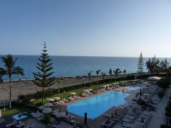Playa de Cura, Spain: de la chambre vue sur les piscines(3)