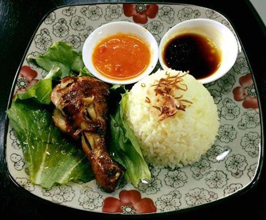 Kajang, Malezya: Nasi Ayam