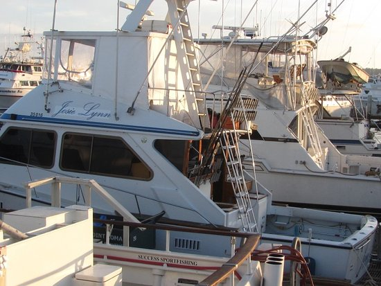 The boat i fished from picture of point loma for Fishing boat types