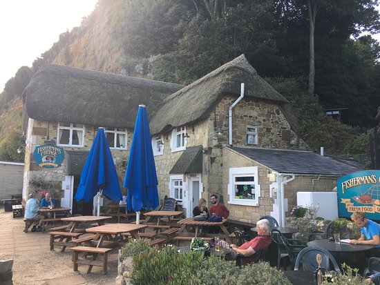 Fisherman 39 s cottage view from the beach picture of fishermans cottage shanklin tripadvisor - The fishermans cottage ...