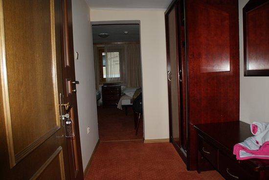 Hotel Post Fusch: Fra det ene værelse til det andet via hotelgangen