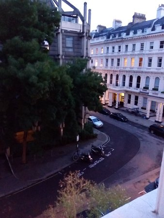 View from the room at New Mansion House