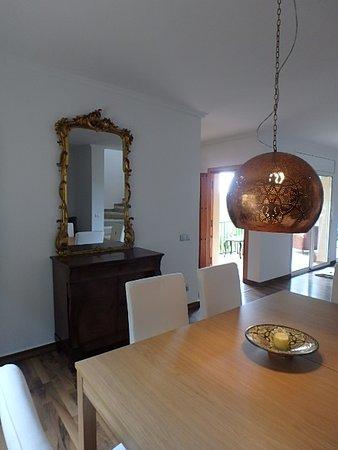 Olivella, สเปน: dining room