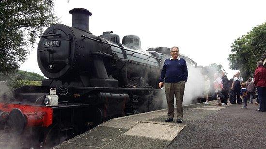Shepton Mallet, UK: A locomotiva