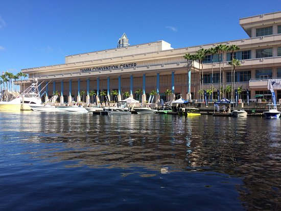 Tampa Convention Center: Demonstrator boats and products at IBEX boatbuilders show