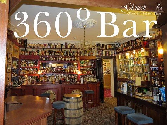 Edzell, UK: 360* Bar at Glenesk Hotel Fairways Restaurant and Golf View Cafe