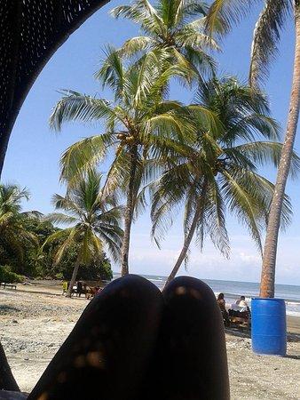 Portobelo, Panama: área de playa