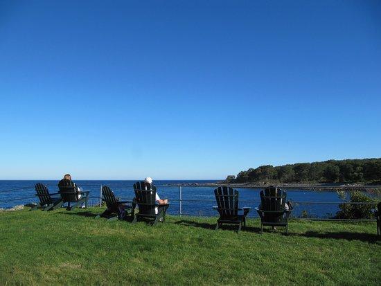 York Harbor, ME: Détente au bord de l'ocean