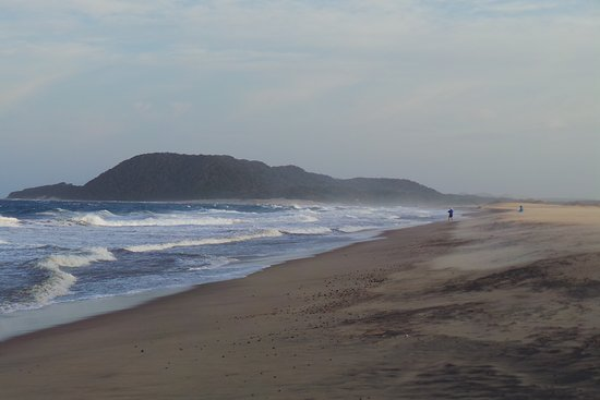 St Lucia, Sudáfrica: Estuary beach