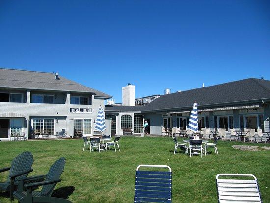 York Harbor, ME: hotel face à la mer