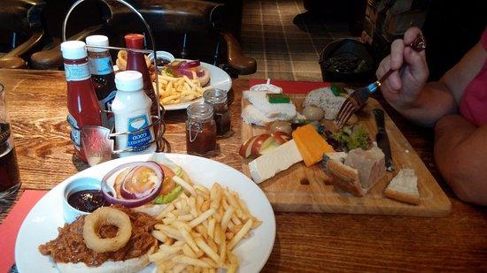 Malpas, UK: A fabulous feast.