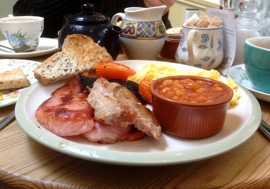 South Street Pantry: Gluten-free full English breakfast, including toast, sausage and beans