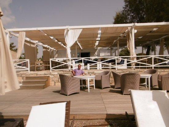 Episkopi, Chipre: aphrodite hills beach bar