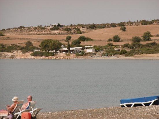 Episkopi, Chipre: view of beach