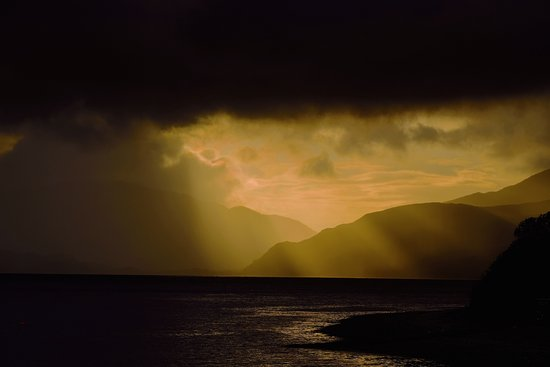 North Ballachulish, UK: Glencoe Sunset