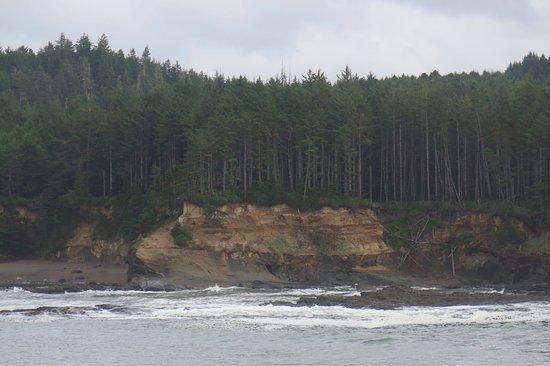 Depoe Bay, OR: Coastal erosion