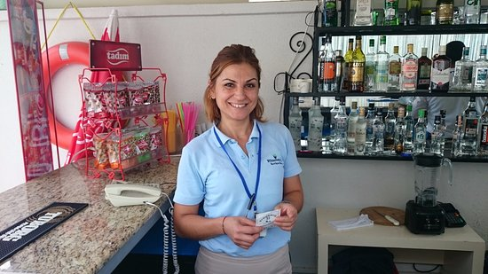 Blueberry Boutique Hotel: Ozgur, Helpful staff...needs to smile more.