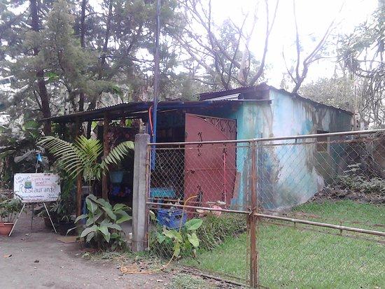Santiago Atitlan, Gwatemala: Piensas que te has perdido al ver el exterior, pero no sabes la grata sorpresa