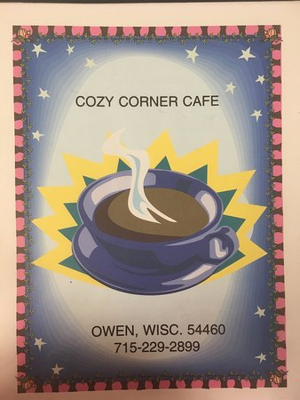 Owen, WI: Cozy Corner Cafe