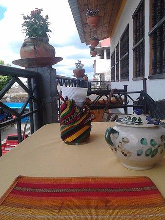 Restaurante Don Pasqual: Balcones de notable vista y romanticismo del lugar
