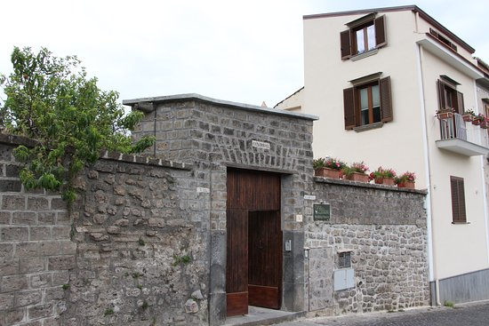 Villa Flavia: entrata